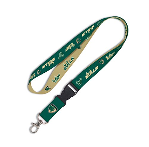 - WinCraft NCAA University of South Florida Lanyard with Detachable Buckle, 3/4