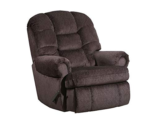 (4501L Lane Stallion Big Man Comfort King (Large) Wallsaver Recliner(Chocolate). Made for The Big Guy Or Gal. Rated for Up to 500 Lbs. Extended Length. 79 Inches. Seat Width. 25)