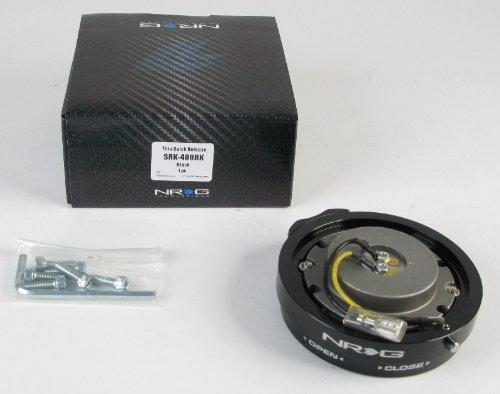 NRG Innovations SRK-400BK Black Thin Quick Release