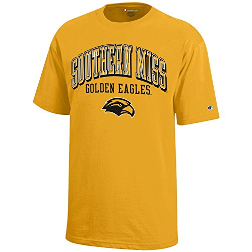 (NCAA Champion Boy's Short Sleeve Jersey T-Shirt Southern Mississippi Golden Eagles)