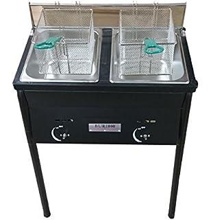 ballington outdoor two tank fryer 2 baskets u0026 stainless steel oil tank - Outdoor Deep Fryer