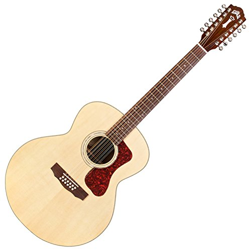 Guild F-1512E 12-String Acoustic-Electric Guitar in Natural