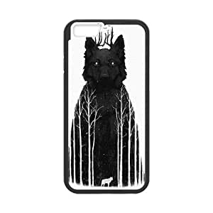 iPhone 6 Plus 5.5 Inch Cell Phone Case Black The Wolf King Kebnt