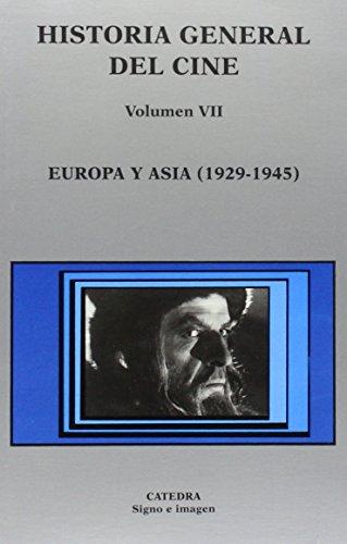Descargar Libro Historia General Del Cine. Volumen Vii: Europa Y Asia, 1929-1945: 7 José Enrique Monterde