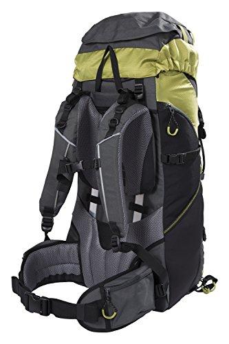 arrion 65L Rucksack - Soft Travel Backpack Lime (65l Rucksack)