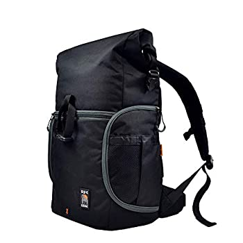 Image of Ape Case, Maxess Rolltop, Black, Water-resistant, Backpack, Camera bag (ACPRO3000)