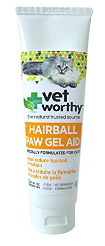 (Vet Worthy Hairball Paw Gel Aid for Cats (5 oz))