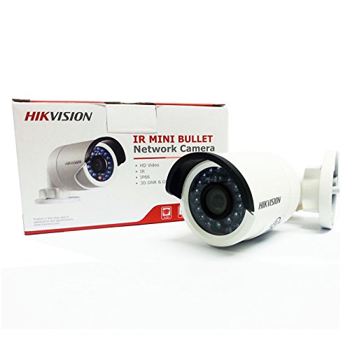 "Hikvision DS-2CD2032-I 1/3"" CMOS 3MP IR Fixed Focal Lens Bullet Camera HD Waterproof Security Network Cctv IP Camera 12mm (Support POE)"