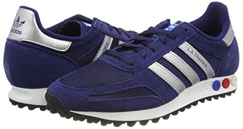 Trainer Uni Gris Pour bleu 0 Chin Argent Bleu Homme Adidas La Chaussures Mtallis Fonc Twq5gZT