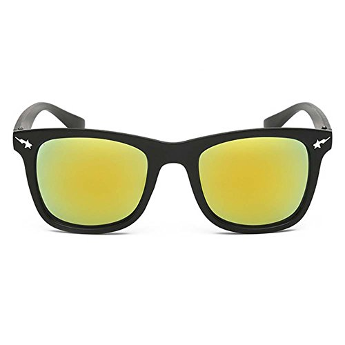 My.Monkey Retro Classic Wayfarer Sunglasses With Colored Lens Uv 400 Driving - Blublocker Review Sunglasses