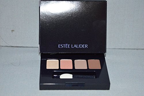 Estee Lauder Pure Color Eyeshadow Quad Sugar Biscuit Nude Fresco Wild Sable Chocolate Bliss Travel Size Compact -