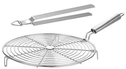 - Steel Roasting Net with Tong,Roasting Net,Stainless Steel Wire Roaster,Cooking Rack,Chiken Grill,Roti Grill, Papad Grill, Chapati Grill,Roaster