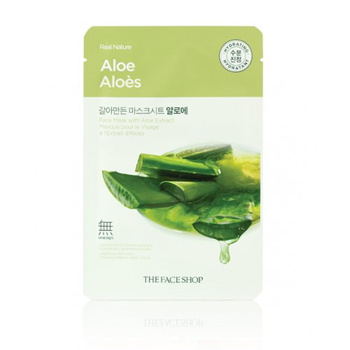 3-Pack-THE-FACE-SHOP-Real-Nature-Mask-Aloe