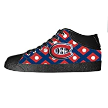 DONGMEN Custom National Hockey League NHL Teams Womens Canvas Shoes Lady's Footwear Sneakers