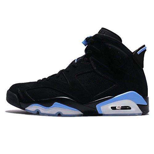 Jordan Retro 6'' UNC Black/University Blue (10.5 D(M) US) by Jordan