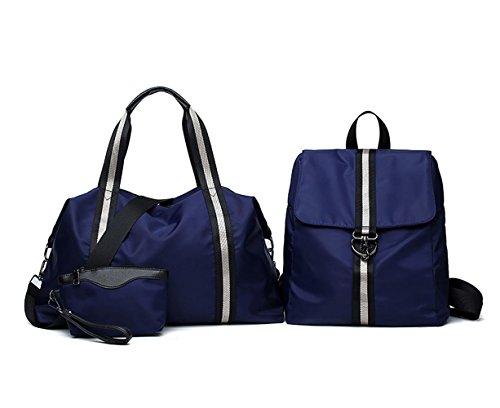 Mujer Bolsos bandolera Shoppers y bolsos de hombro Bolsos de mano Bolsos bolera 3pcs Set Azul Azul