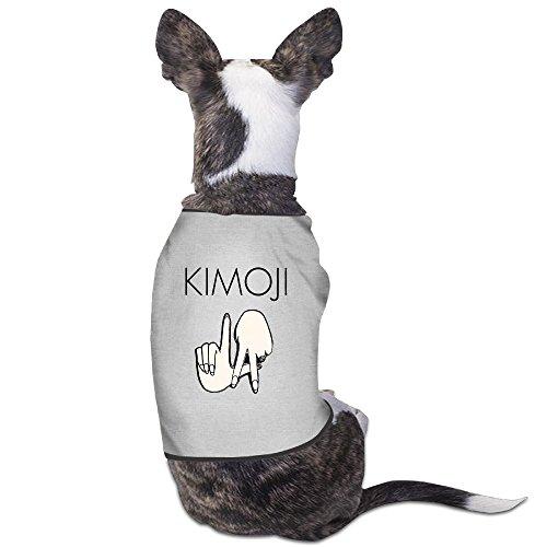 Kim Champagne Costume - PET-Cute Kim Kardashian LA HAND Pet Dog Shirts.