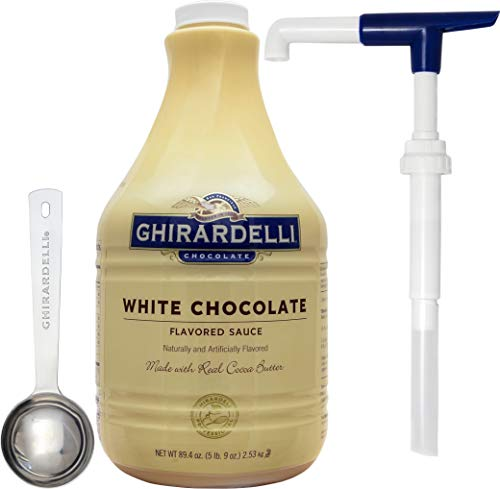 Ghirardelli White Chocolate Flavored Sauce 89.4 Ounce