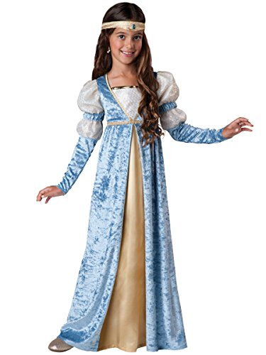 InCharacter Costumes Renaissance Maiden Costume, Size 6/Small (Princess Renaissance Costume)