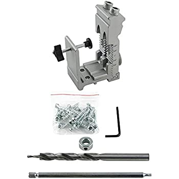 Permalink to General Tools Adjustable Pocket Hole Jig Kit 854