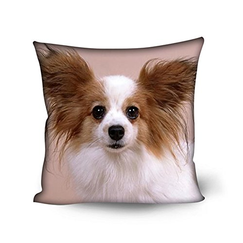 Cushion Body Pillow Covers for Living Room Bedroom Chair Seat Decorative (Papillon Pillow)