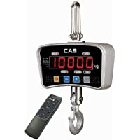 CAS IE-200E IE Series Economy Crane Scale with LED Display, 200lbs Capacity, 0.1lbs Readability