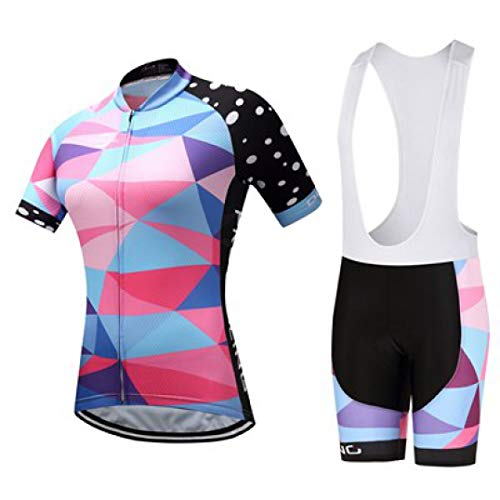 Women Cycling Jersey Sets Breathable Short Sleeve Sport wear for MTB Bicycle Summer Outdoor Sport Cycling Clothes