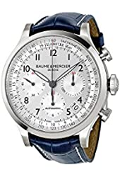 Baume & Mercier Men's MOA10063 Automatic Stainless Steel Silver Dial Watch