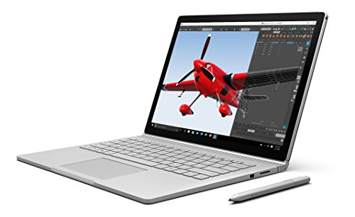 - Microsoft Surface Book Silver - 256GB, 13.5, Windows 10 Pro, Intel Core i5, 8GB RAM - Pre-Owned