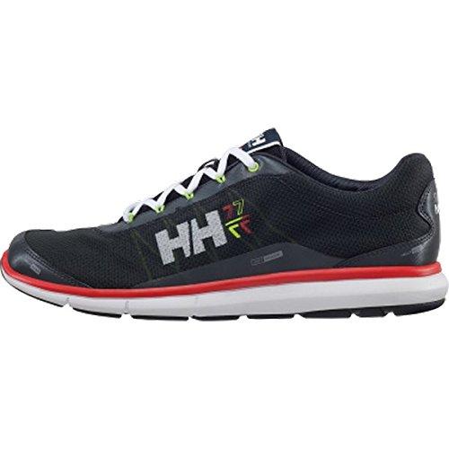 Helly Hansen Crestflyer, Zapatillas de Deporte Exterior para Hombre Negro / Blanco (990 Black / Ebony / White / Li)