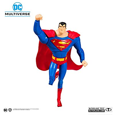 McFarlane Toys DC Multiverse Superman: Superman The Animated Series Action Figure: Toys & Games