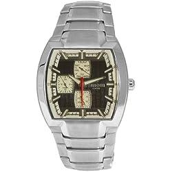 Sinobi By Lavaro Men's Quartz Wrist Watch SS1003GA-3 with Metal Strap