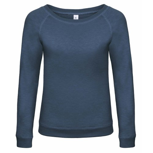 amp;c À Starlight Rouge Denim B Encolure Sweatshirt Femme Large IqwdqpE