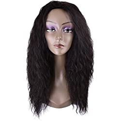 Miss Rola Long Curly Wig Synthetic Hair Wigs For Women Heat Resistant Fiber Hair Synthetic Hair Weave Full Wigs High Density Natural Looking As Real Hair(2#)