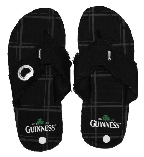Guinness Clover Alcohol Bottle Sandals product image
