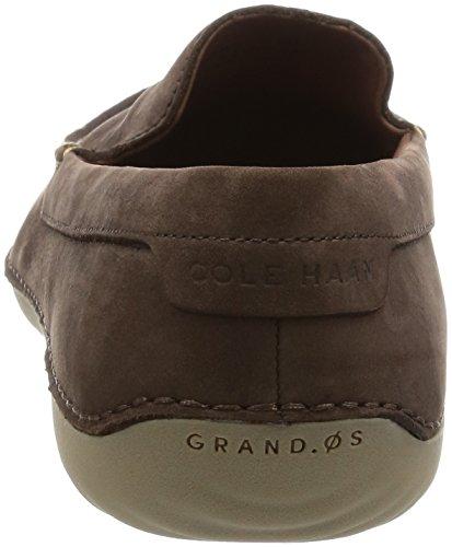 Cole Haan Men's Motogrand Venetian Loafer, Black, 10 US Java Nubuck