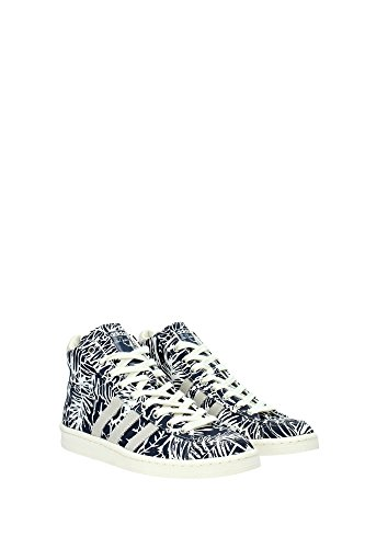 JABBAR Bianco MID Adidas Scarpe Blu Sneakers Jabbar Uomo Abdul da per Pallacanestro Moda AqHHrd0