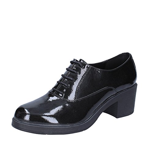 EU Nero Vernice Oxford Classiche Francesco 41 Shoe Donna Milano 4T6wwqY0