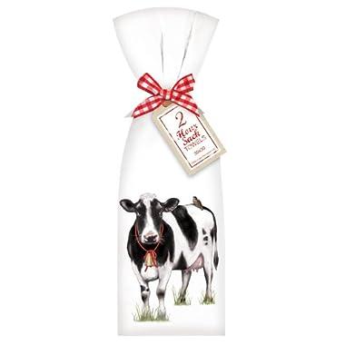 Farmhouse Cow Towel Set