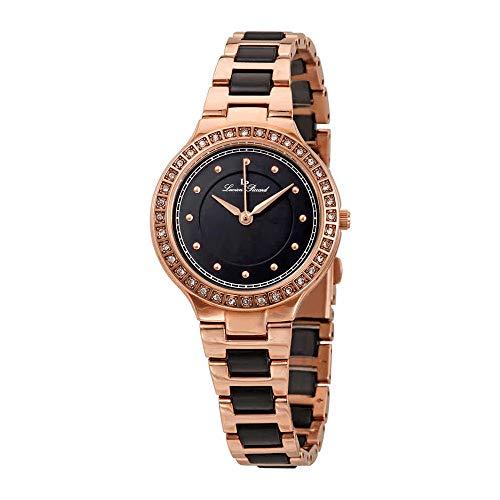 Lucien Piccard Natalie Black Dial Ladies Watch LP-28023-RG-11
