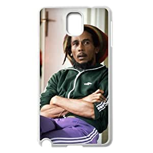 C-EUR Customized Print Bob Marley Hard Skin Case Compatible For Samsung Galaxy Note 3 N9000