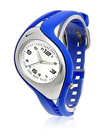 Nike Reloj analogico para Nios de Cuarzo con Correa en Caucho WK0008429: Amazon.es: Relojes