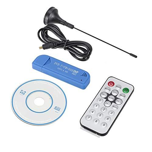 USB DVB-T Stick JahyShowDVB-T DAB FM,RTL2832U & R820T Tuner,Mini USB RTL-SDR & ADS-B Receiver ()