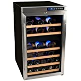 EdgeStar CWF340DZ 34 Bottle Wine Cooler with Compressor - Freestanding