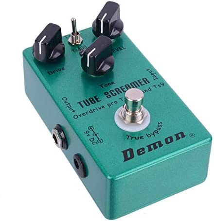 Demon TS808 Tube Screamer Overdrive Pro - Pedal de efectos para ...