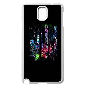Samsung Galaxy Note 3 Cell Phone Case White Sleepless In The City YWU9330239KSL