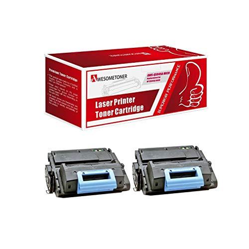 Awesometoner Compatible 2 Pack Q5945A MICR Toner Cartridge for HP Laserjet 4345 4345mfp 4345x MFP M4345 MFP M4345x MFP Yield 18000 - Laserjet Kit Maintenance 4345mfp