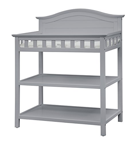 Thomasville Kids Southern Dunes Changing Table, Pebble Gray