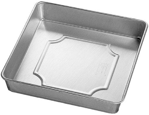 6 square cake pan - 2