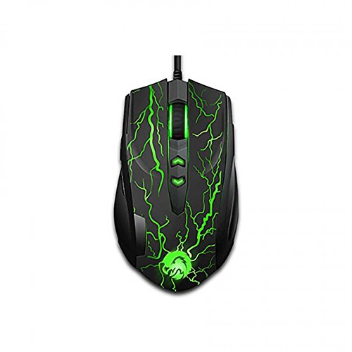 Mouse Gamer :  TTX PC Laser - Black - PC, Mac, Linux